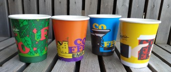 New Cups The story of coffee