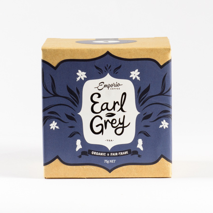 Emporio coffee earl grey tea