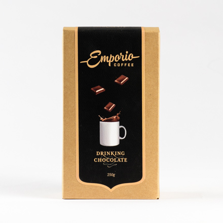 Emporio coffee drinking chocolate