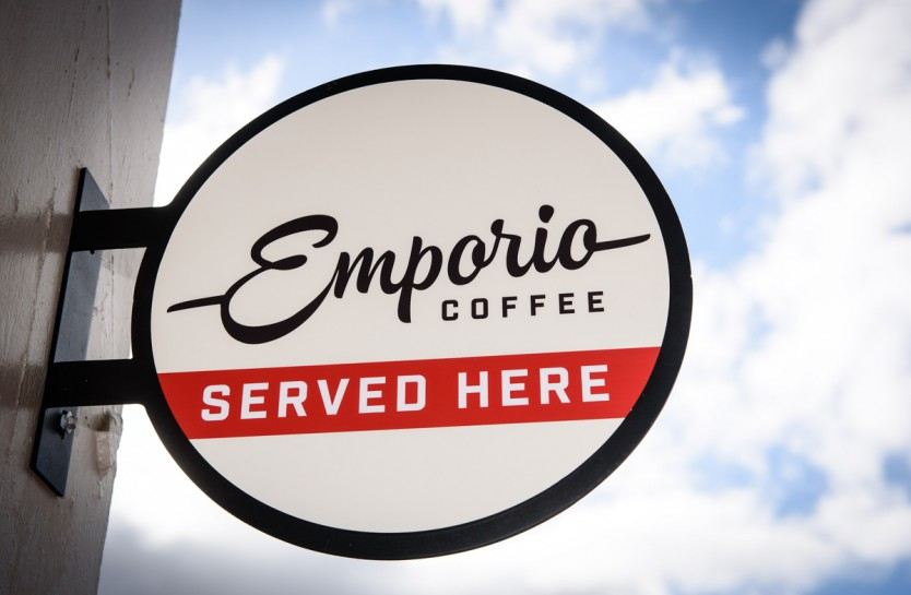 Emporio Wellington cafe sign